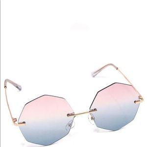 Octagon Ombré Sunglasses